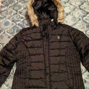 Women POLO ASSN hooded jacket